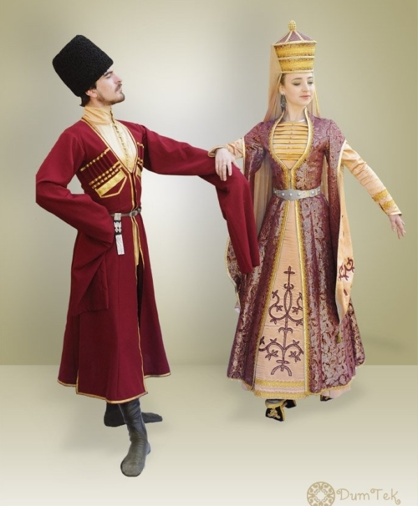 adyghe traditional costumes North Caucasus