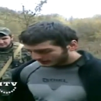 Chechen rebel captured (video)
