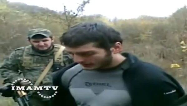 chechen rebel captured chechnya north caucasus fighters
