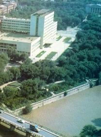 Grozny before war Chechnya North Caucasus Sunzha river