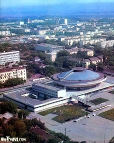 Grozny before war circus Chechnya North Caucasus