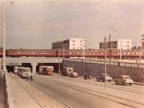 Grozny before war street Chechnya North Caucasus