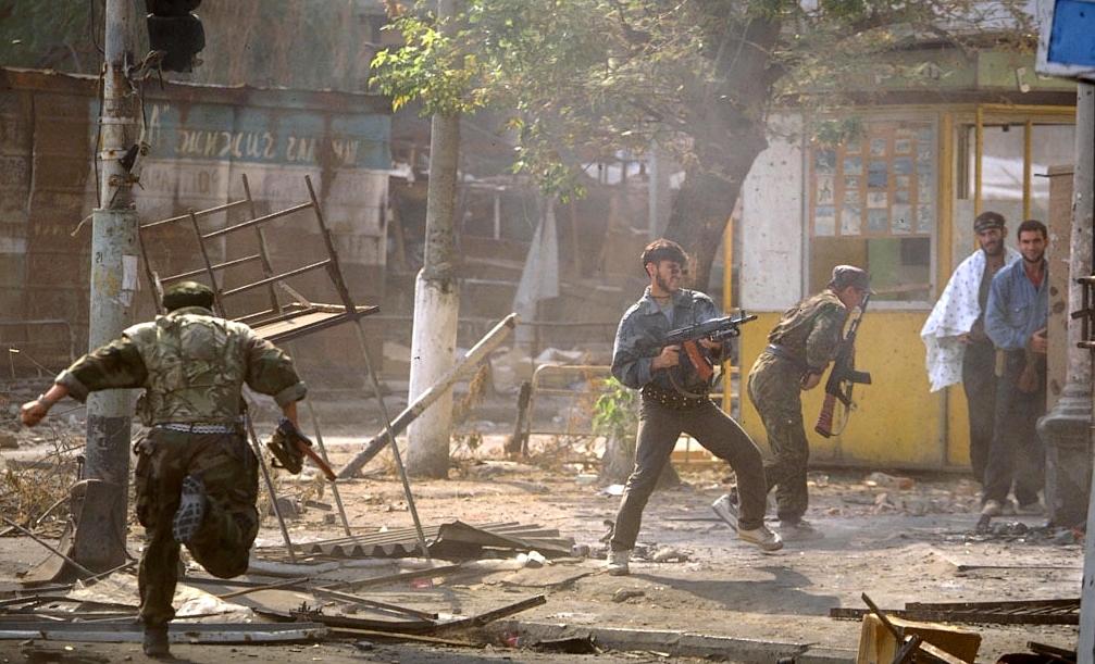 الجيش الروسى يتسلم الجيل الجديد من الراجمات أوراغان 1 أم Grozny-war-chechnya-chechen-men-fighting-north-caucasus