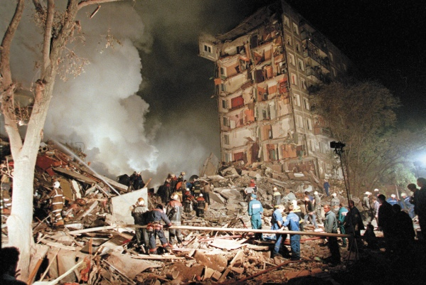 Russia apartment buildings bombings Chechens Chechnya 2