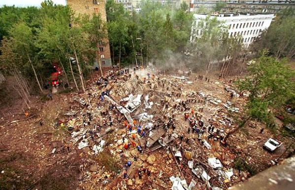 Russia apartment buildings bombings Chechens Chechnya 7