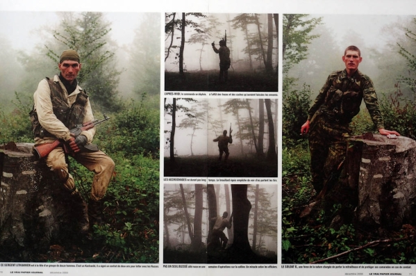 Russian soldiers Chechnya war chechen rebels fighters terrorists North Caucasus 1