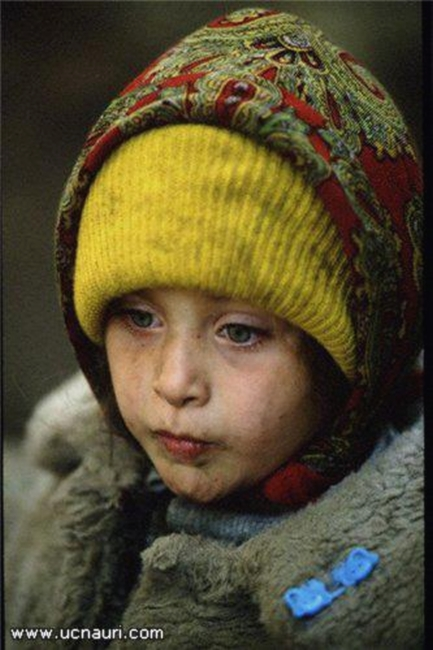War in Abkhazia refugee children North caucasus victims