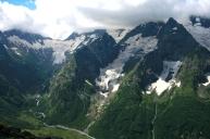 Alibek gorge Dombay Karachay-Cherkessia Greater Caucasus mountains North Caucasus Sochi Olympics 2014