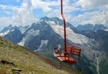 cable car glacier Dombay Karachay-Cherkessia Greater Caucasus mountains North Caucasus Sochi Olympics 2014
