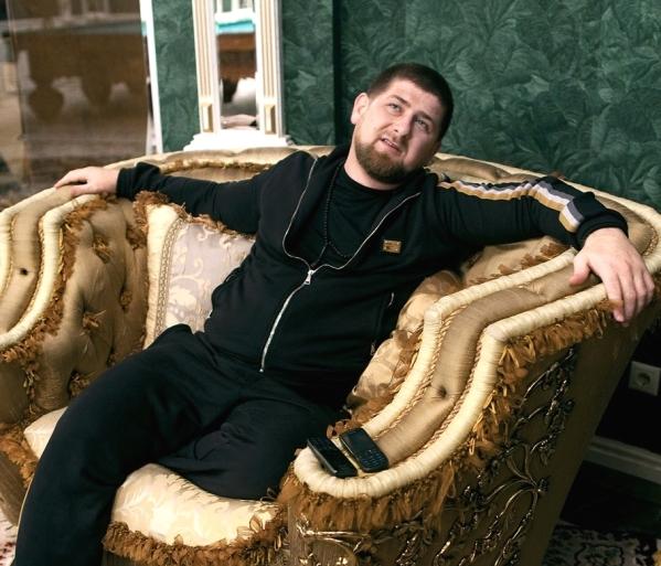chechen leader Ramzan Kadyrov Grozny Chechnya North Caucasus Russia