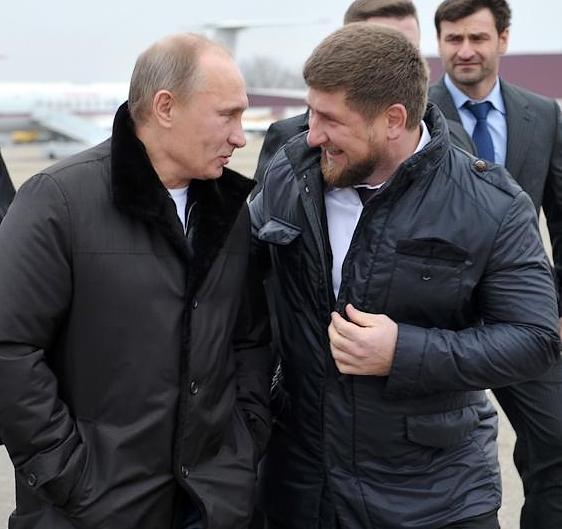 chechen leader Ramzan Kadyrov Putin Grozny Chechnya North Caucasus Russia