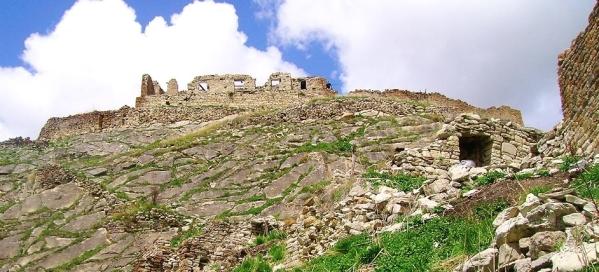 Chechnya Makazhoy Kazenoy fortress ruins North Caucasus