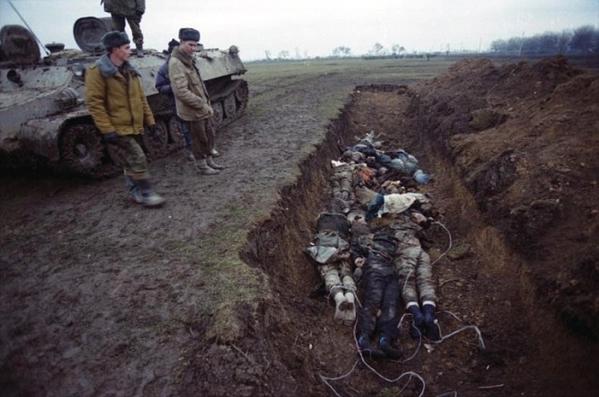 Chechnya Russia war chechen men prisoners genocide North Caucasus wars