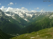 Dombay valley Greater Caucasus mountains North Caucasus Sochi Olympics 2014