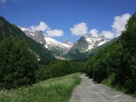 Dzhalovchat pass Dombay Greater Caucasus mountains North Caucasus