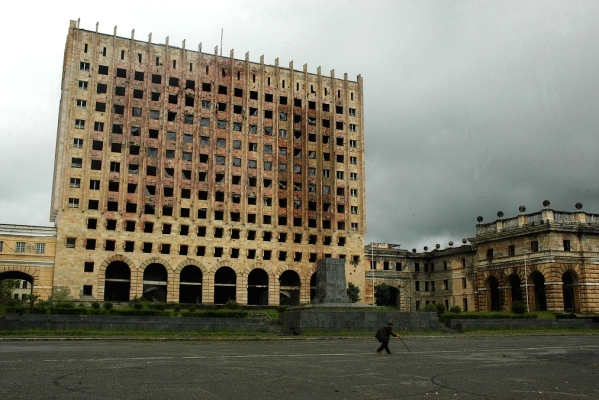 Government House of Abkhazia Sukhumi Georgia North Caucasus