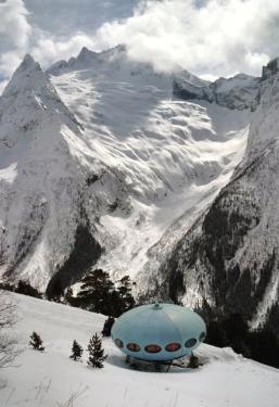 hotel UFO Greater Caucasus mountains Dombay North Caucasus Sochi Olympics 2014