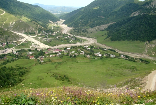Kharachoy Chechnya landscapes North Caucasus