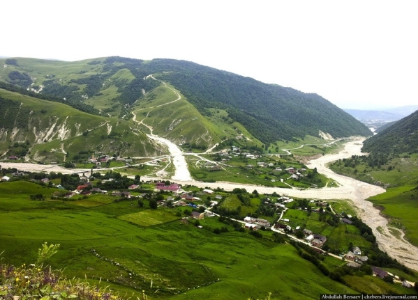 Kharachoy Chechnya North Caucasus