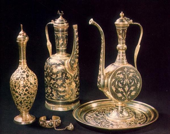 Kubachi craft Dagestan Caucasus