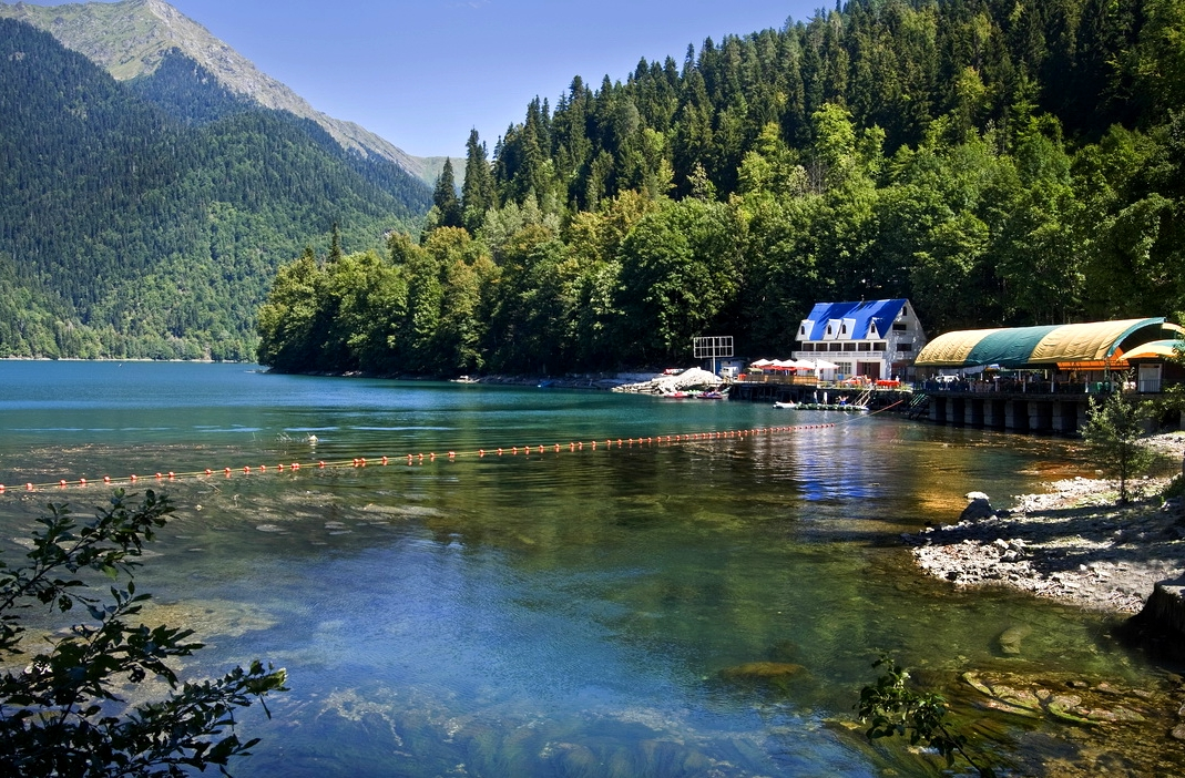 lake ritsa Abkhazia North Caucasus Black Sea 2 Caucasus ...