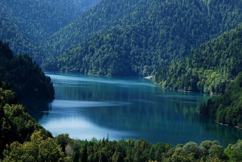 lake ritsa  Abkhazia North Caucasus Black Sea 336 Caucasusmountains