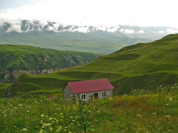 newly built vacation house Makazhoy Chechnya North Caucasus