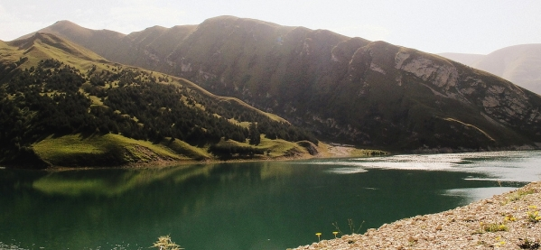 North Caucasus mountains Vedensky Chechnya landscapes Kezenoyam lake