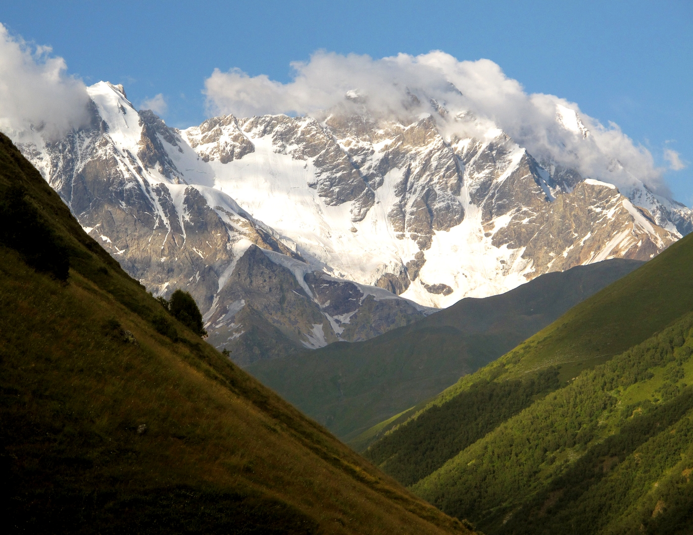 Shkhara mountain and Ushguli – Svaneti, Georgia | North ...