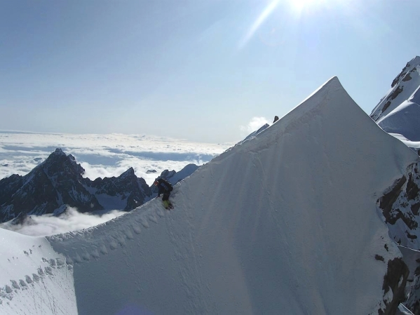Caucasus mountains Mizhirgi glacier Bezengi kabardino-Balkaria North Caucasus 2