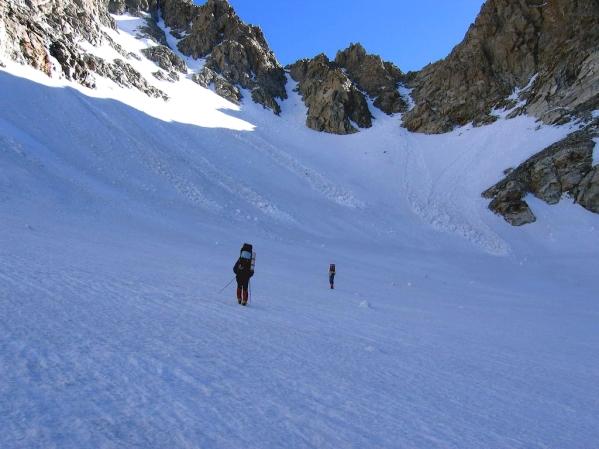 Caucasus mountains Mizhirgi glacier Kabardino-Balkaria North Caucasus 2