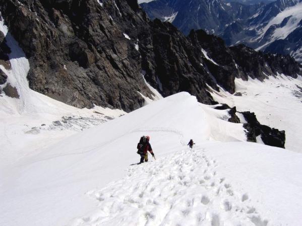 Caucasus mountains Mizhirgi glacier Kabardino-Balkaria North Caucasus 4