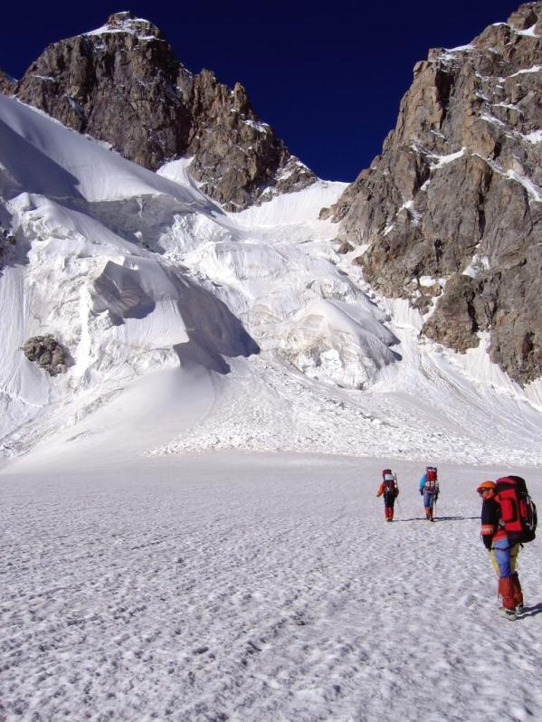 Caucasus mountains Mizhirgi glacier Kabardino-Balkaria North Caucasus 5