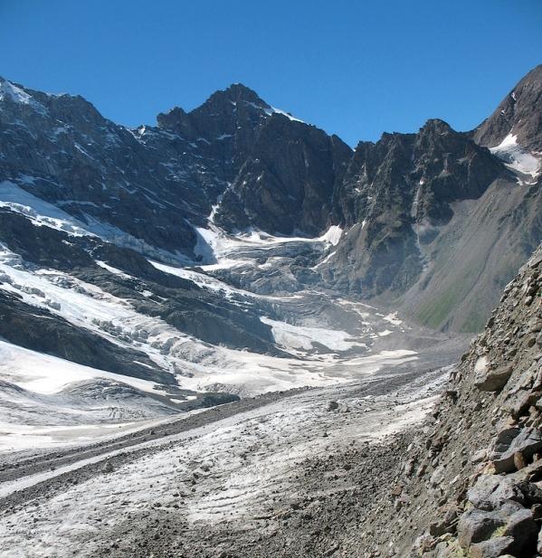 Caucasus mountains Mizhirgi glacier Kabardino-Balkaria North Caucasus 7
