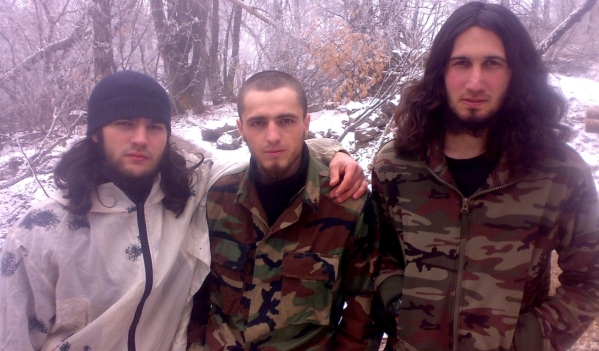Islam Atiev (kiled in december 2013) and 2 rebel fighters killed with Gukayev brothers