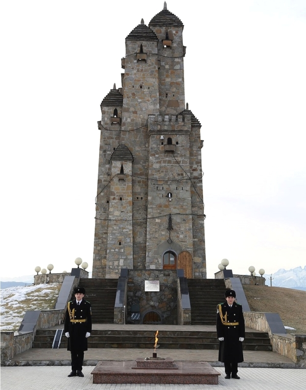 North Caucasus Ingushetia Memorial to victims of Stalin oppression in Nazran 2