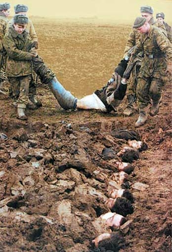 North Caucasus Russia Chechnya war  crimes atrocities russian soldiers chechen civilians rebels