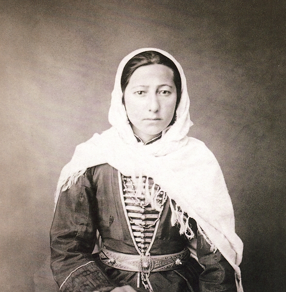 1870 Chechen woman