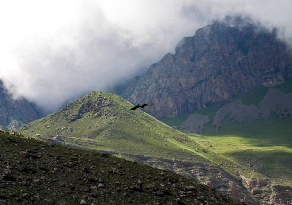Caucasus mountains Eltyubyu Chegem valley North Caucasus
