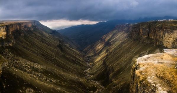 Khunzakh plateau Matlas dagestan