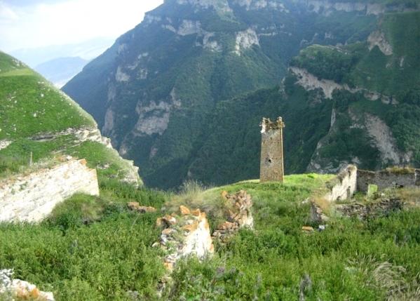 Caucasus mountains makazhoy Cheberloyevsky canyon Chechnya North Caucasus 9