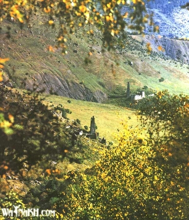 Chechen Nakh towers Chechnya North Caucasus Vainakh old