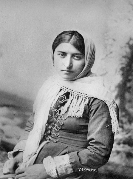 Chechen woman 1897