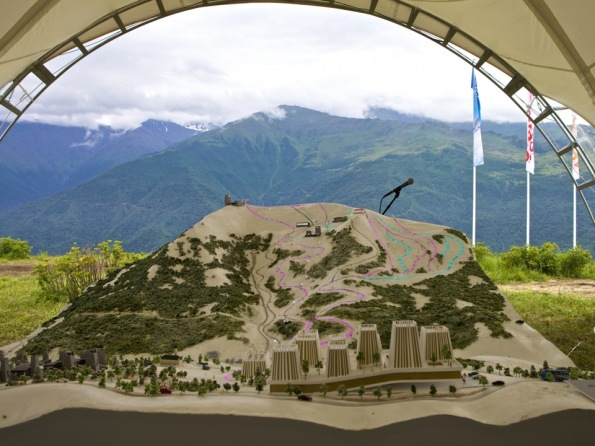 chechnya caucasus mountains veduchi ski resort north caucasus
