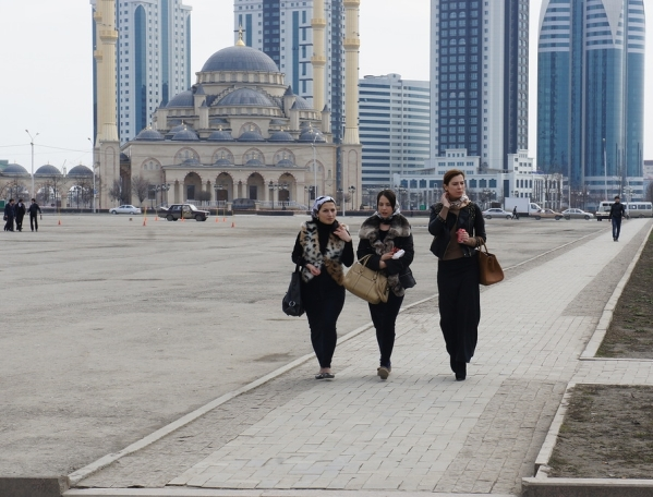 chechnya chechen women girls caucasus people chechens