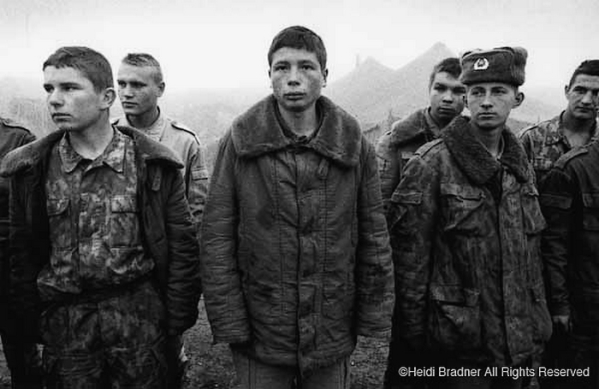 Chechnya Grozny Russian soldier boys North Caucasus lost boys