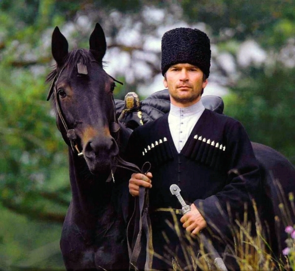 Chechnya people chechen men outfit chechens