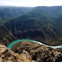 Sulak river - beauty and hydropower (Dagestan)
