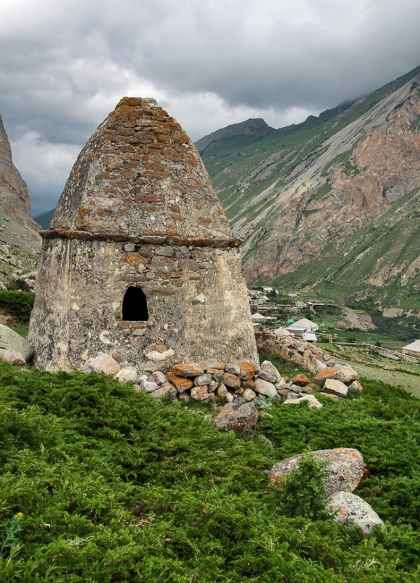 Eltyubyu City of the Dead Chegem valley North Caucasus Kabardino-Balkaria