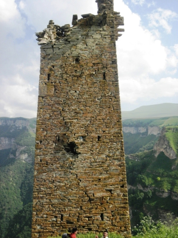 Makazhoy tower Nakh people Cheberloy clan Chechnya Kazenoyam 1